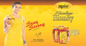 P V Sindhu as Apis India Ltd. brand ambassador.