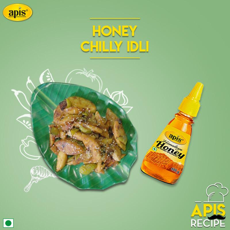 Apis Recipes : Apis Honey Chilli Idli