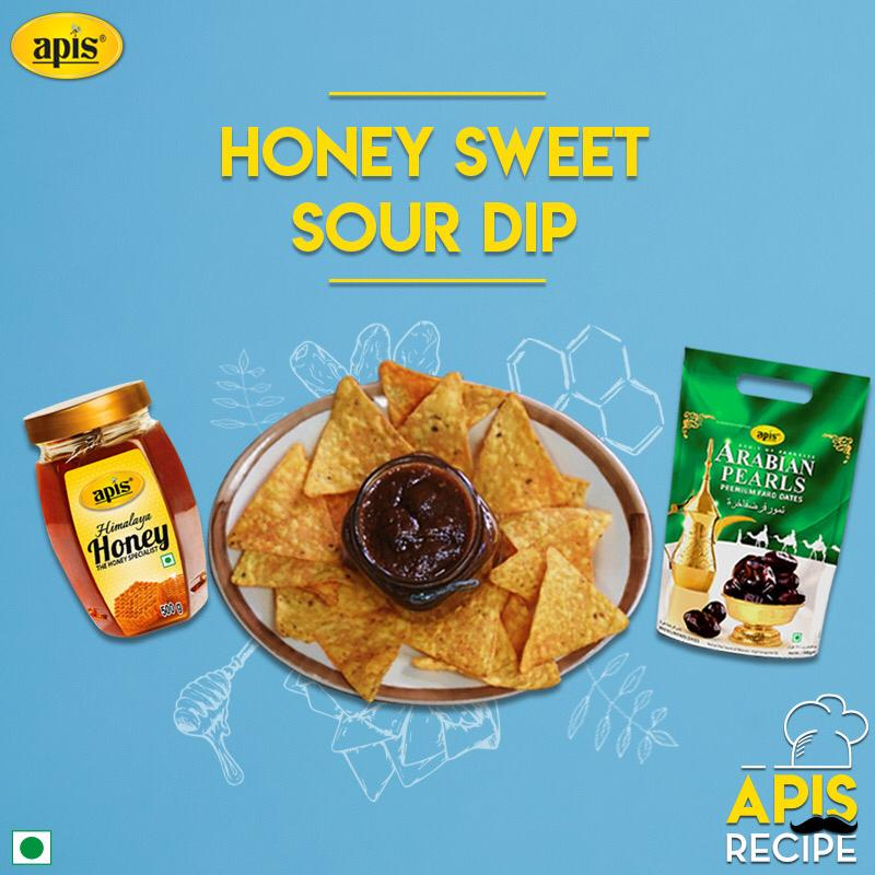 Apis Recipes : Apis Honey & Dates Sweet and Sour Dip