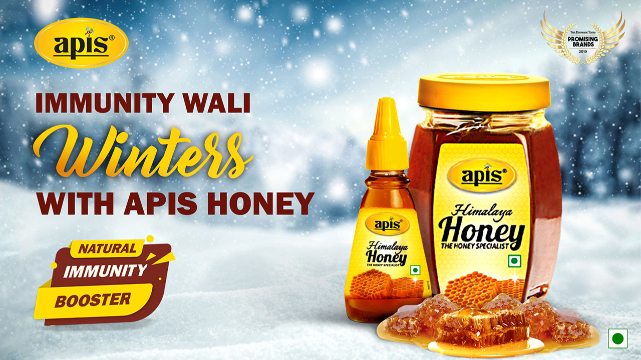 Immunity wali winters with Apis Honey