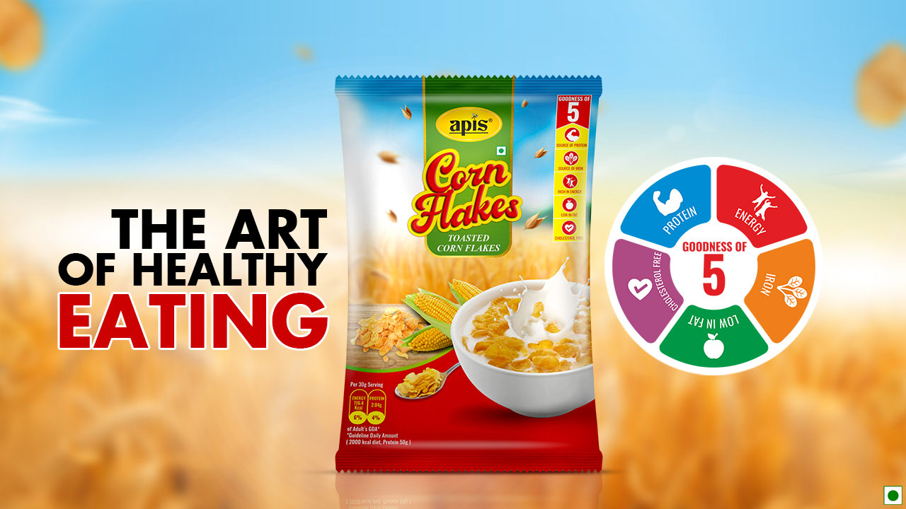 Apis Cornflakes – The Art Of Healthy Eating