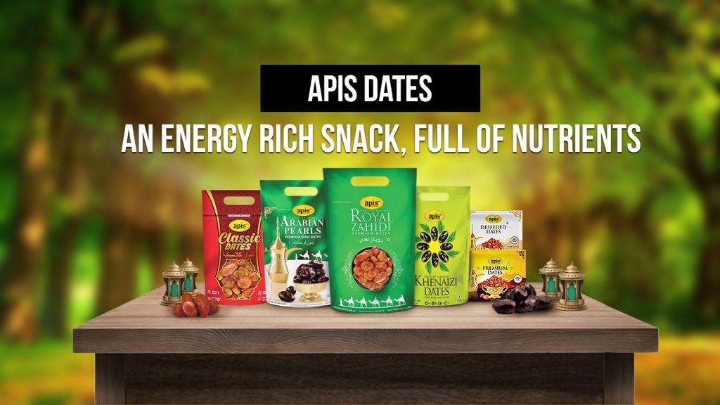 APIS DATES – AN ENERGY RICH SNACK, FULL OF NUTRIENTS